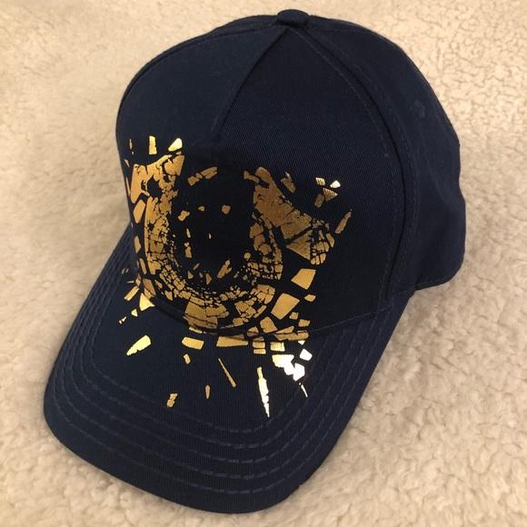 3b4130025819cd True Religion Accessories | Mens Shattered Horseshoe Hat Blue | Poshmark